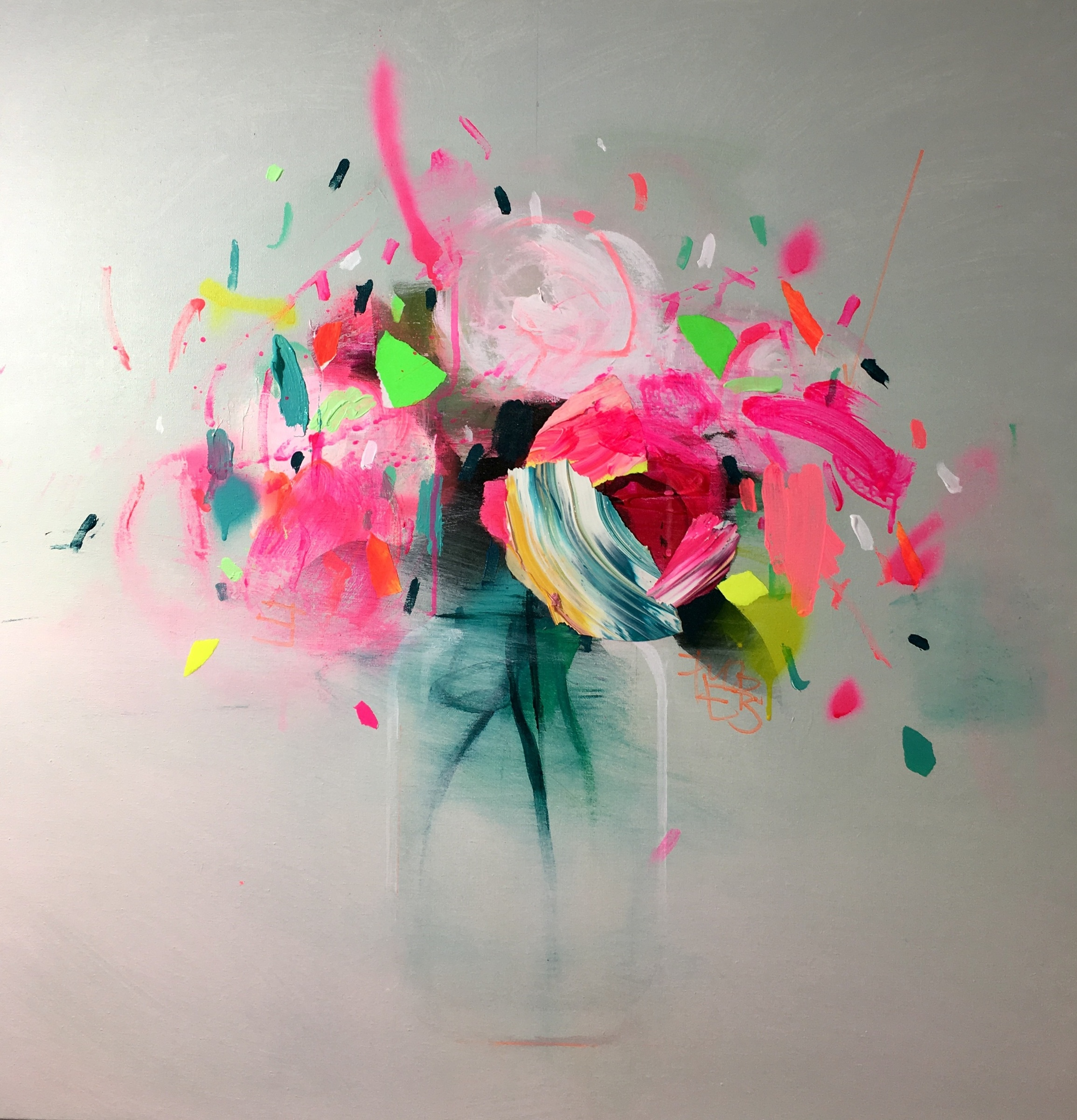 fran mora neon flowers 2017 strange tracey