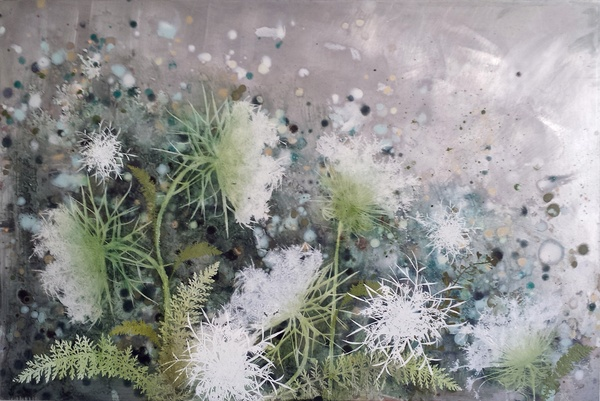 Cara Enteles, Queen Anne's Lace II, 2016
