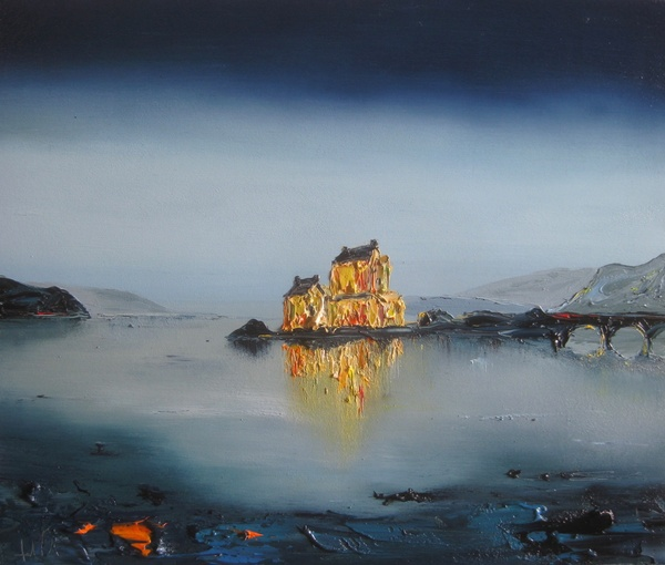 One February Evening, Eilean Donan Castle